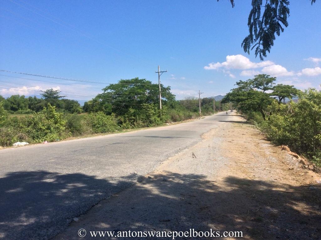saigon to hanoi road, vietnam