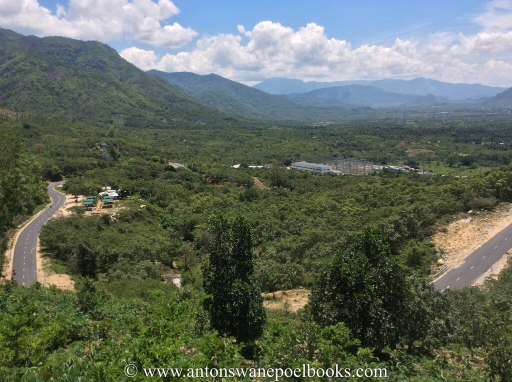 start of the mountains, vietnam