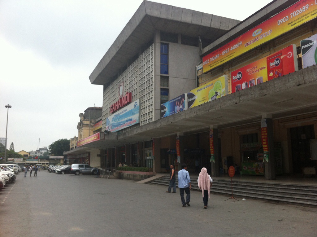 Hanoi strain station, Vietnam.
