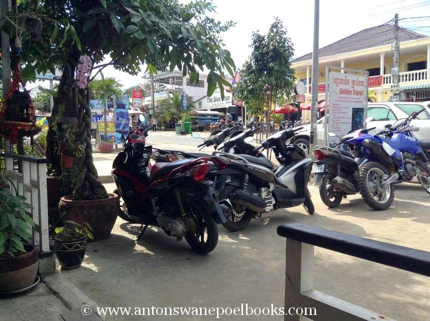 motorcycle rental in Sihanoukville
