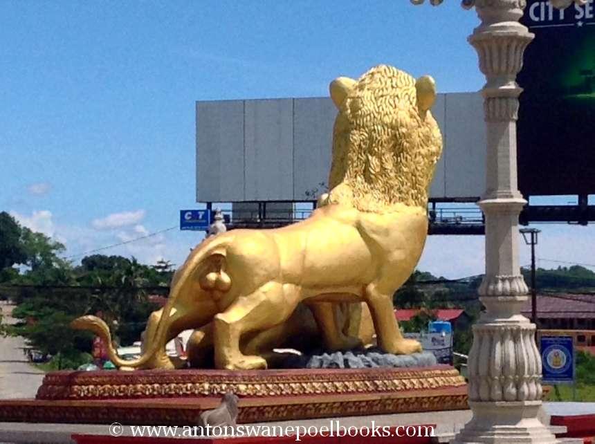 Golden Statue, Sihanoukville